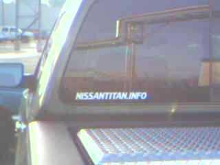 NISSANTITAN.INFO Sticker